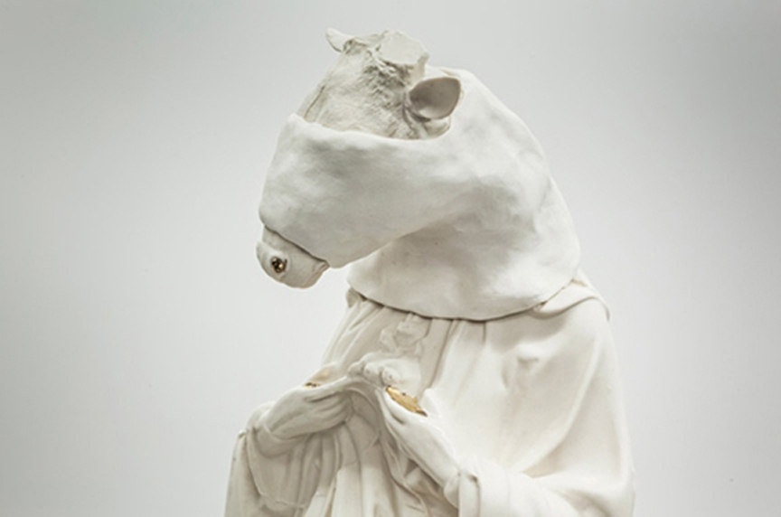 Deer Head Saint (detail), 2012