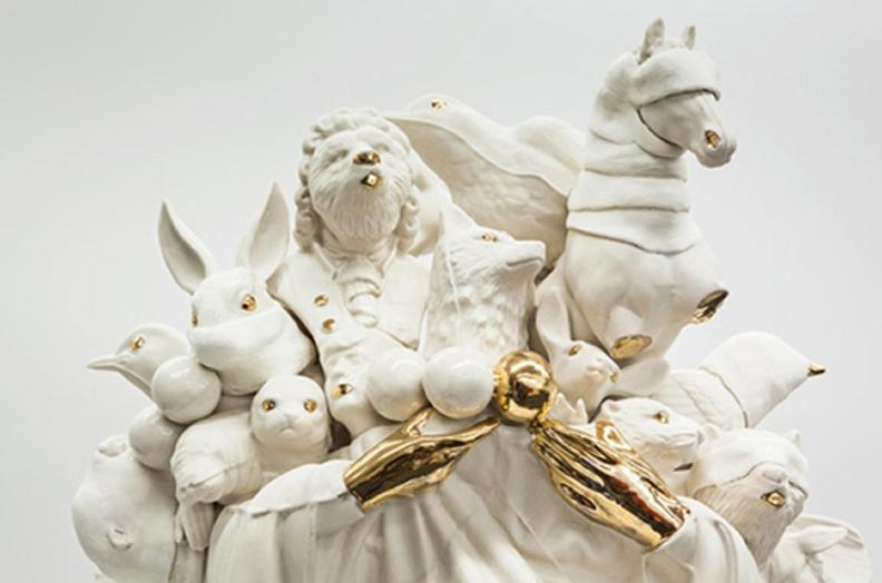 Myriad (detail), 2012