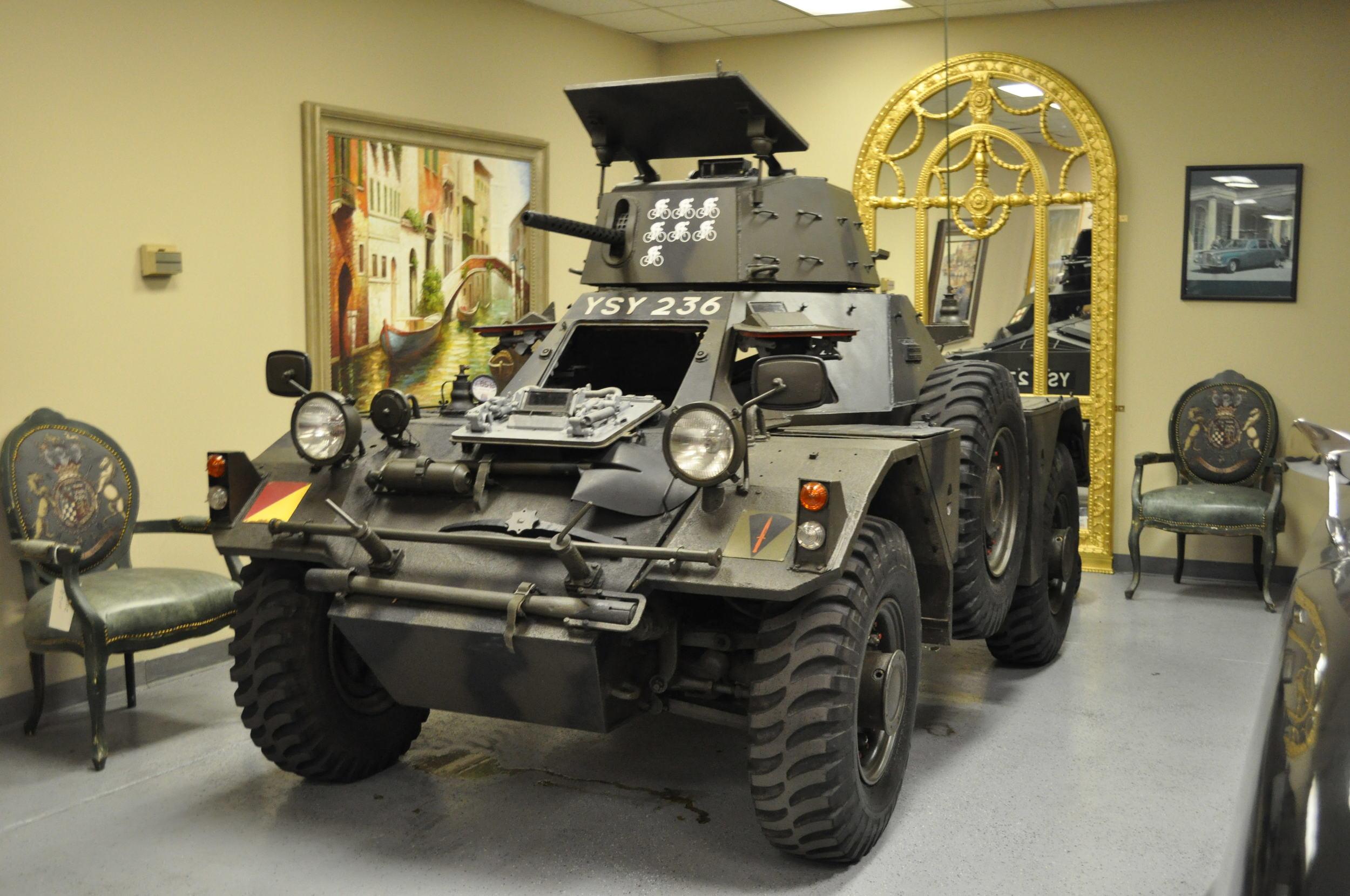 Daimler Ferret Tank