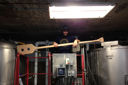 Live Oak Brewery - Decoction Paddle