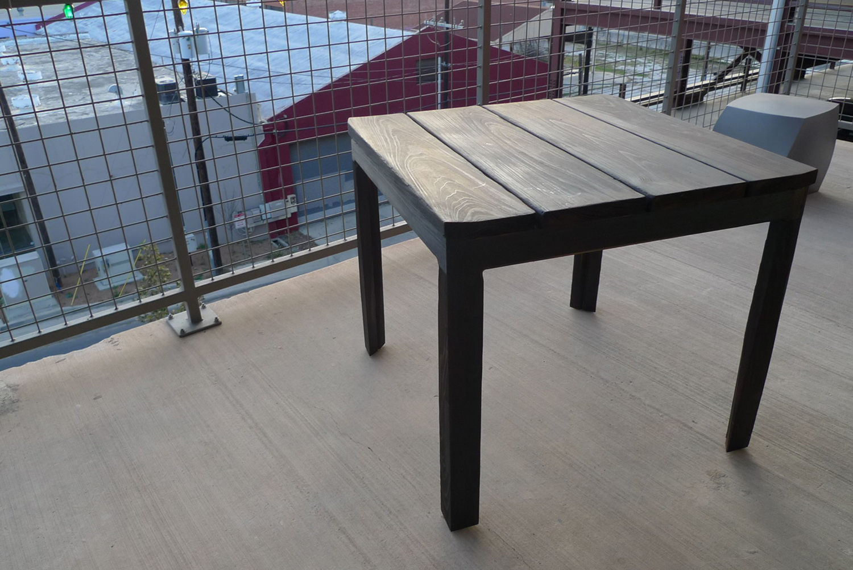 Burnt Table