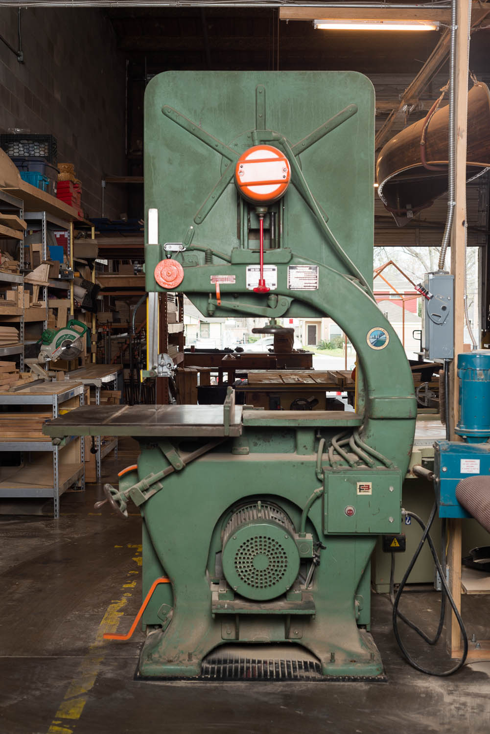 "NORTHFIELD 36"" BAND SAW, 5 hp, 25"" throat capacity, 18"" resaw capacity"