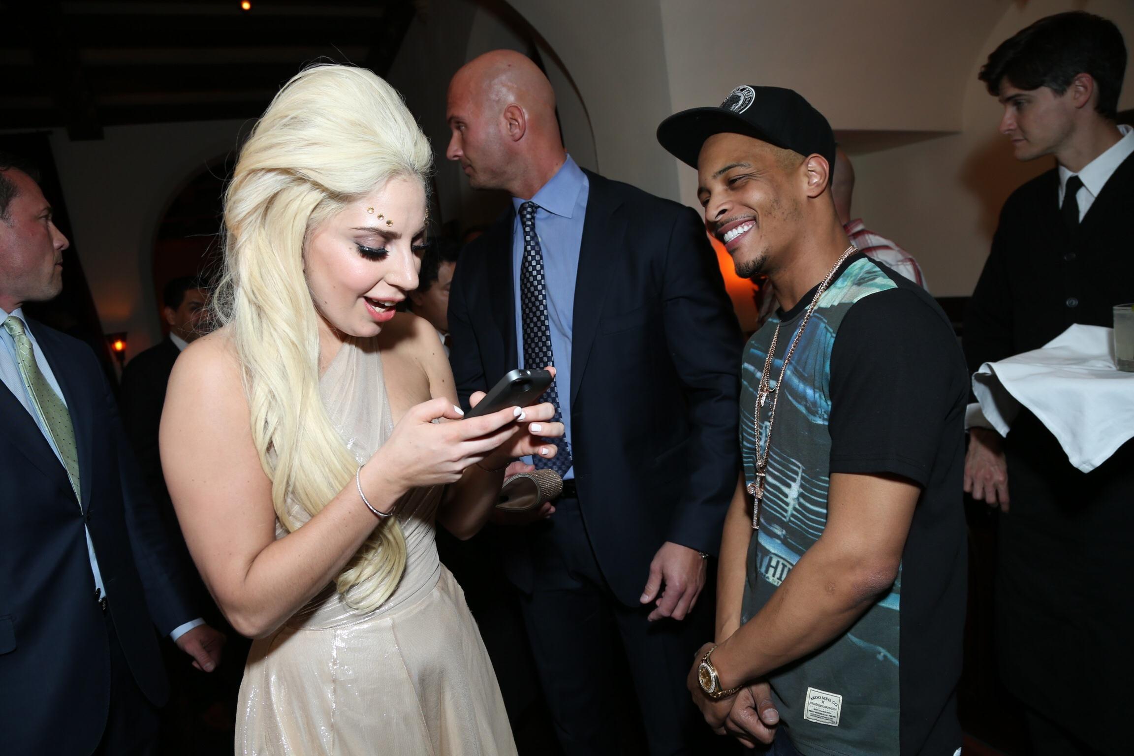 Lady Gaga, T.I. - 2014