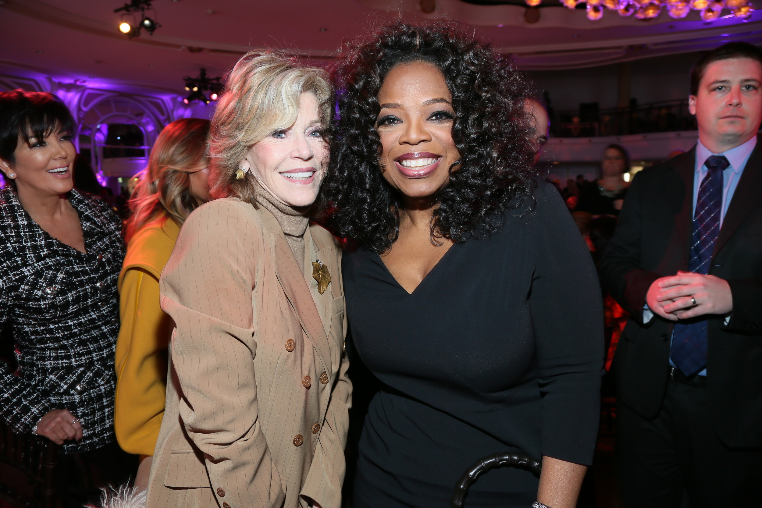 Jane Fonda, Oprah Winfrey