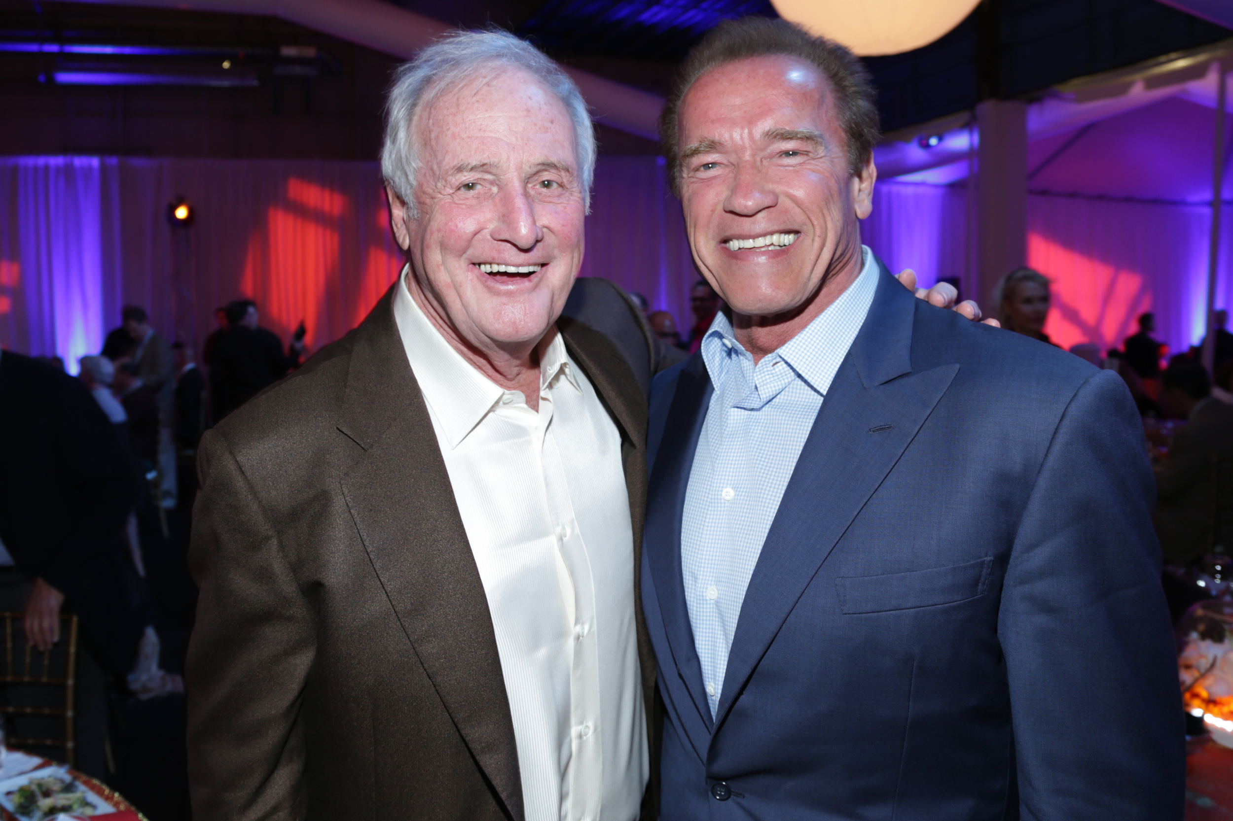 Jerry Weintraub, Arnold Schwarzenegger - 2014