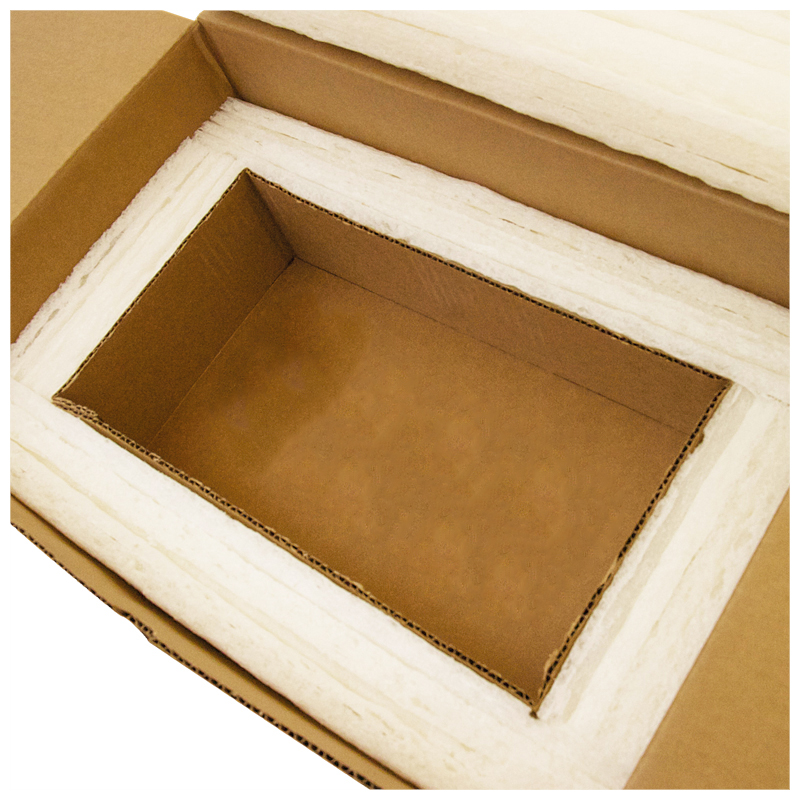 6-Panel Cooler With Corrugate Inner Liner