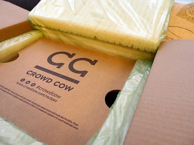 Crowd Cow delivered right to your home? Yes, please!