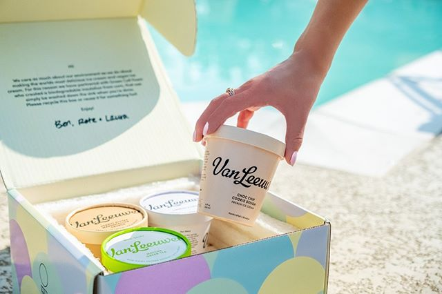 As the warm weather comes to a close... we're reaching all the way to @vanleeuwenicecream🍨  . . . . #GCFCellfie #ECOrn #greencellfoam #greencellplus #greencell+ #livegreen #ecotip #greenliving #ecoliving #ecohome #packagingdesign #packaging #greencellfoam #packagingideas #packaginglove #greenpackaging #greenbeauty #smallbusiness #ecobeauty #crueltyfree #vanleeuwenicecream #vanleeuwen #ecopackaging #compostable #environmentallyfriendlypackaging