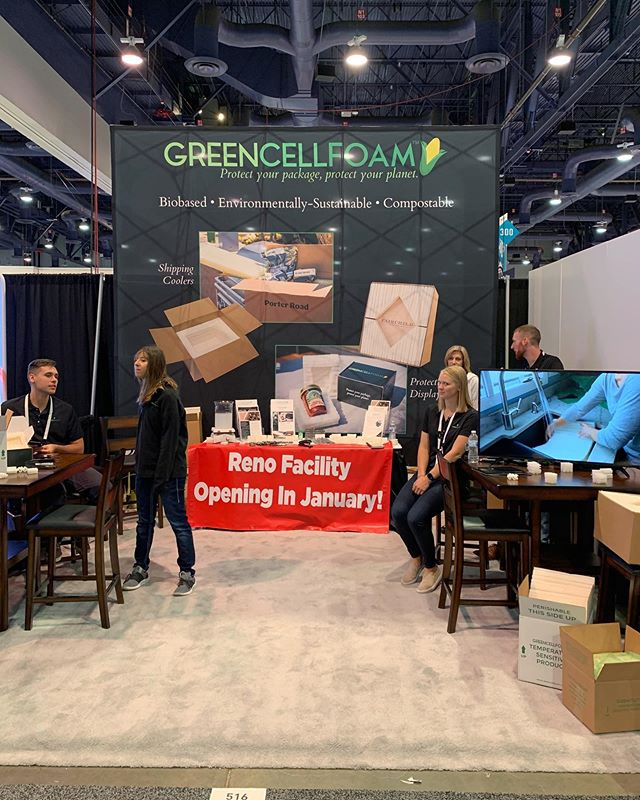 Hey #LasVegas! We're here at PackExpo at booth 516. Stop by to check out our product, get a metal straw, and chat with some of our awesome packaging engineers! @packexposhow