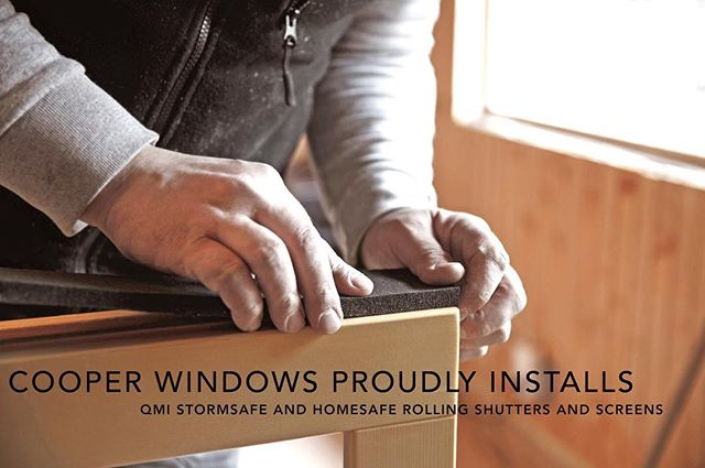 Cooper Windows offers storm and security screens and shutters. At the touch of a button, you can secure your home anytime, anywhere. To learn more, check out CooperWindows.com