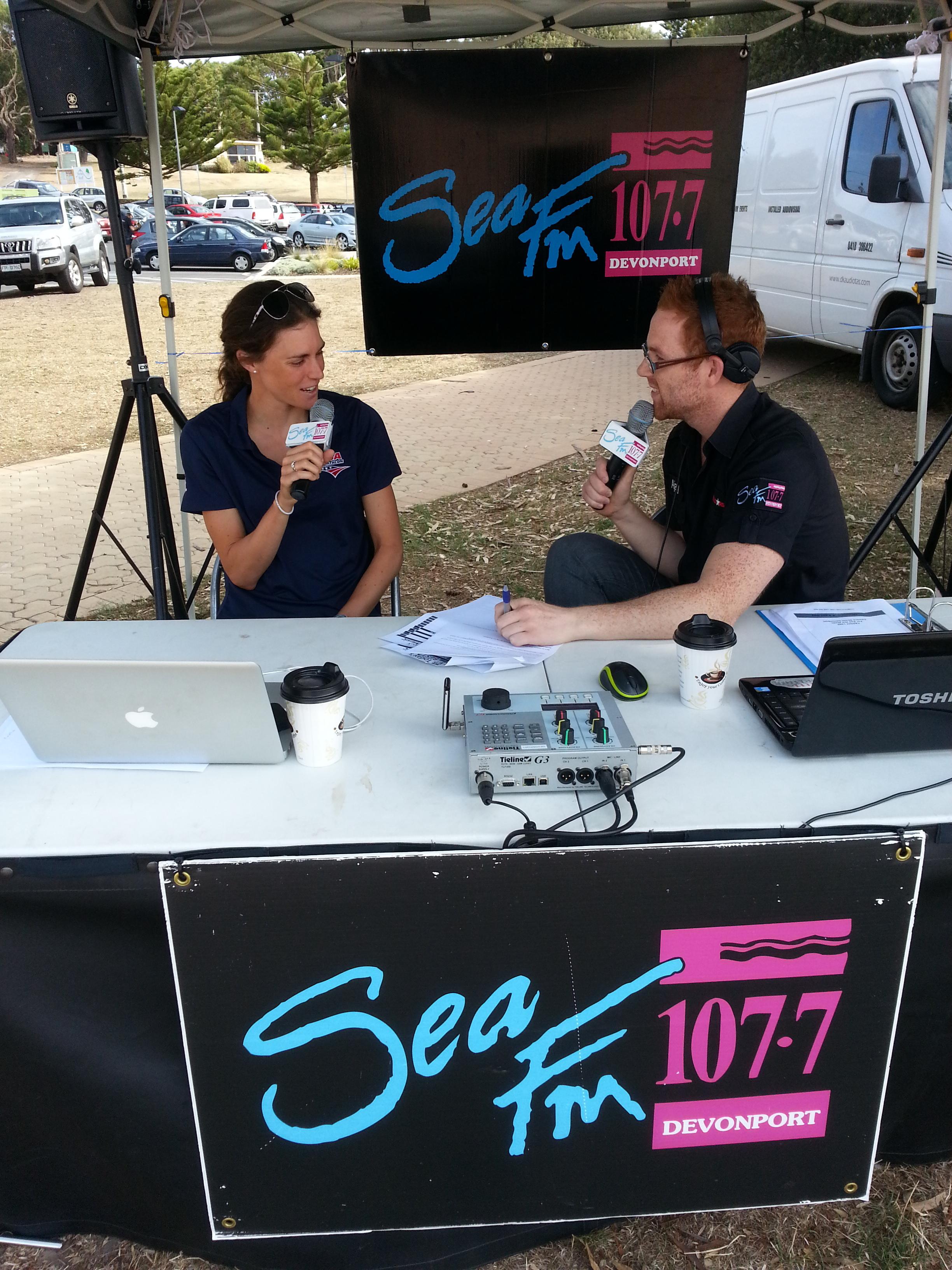 Interview in Devonport 2013