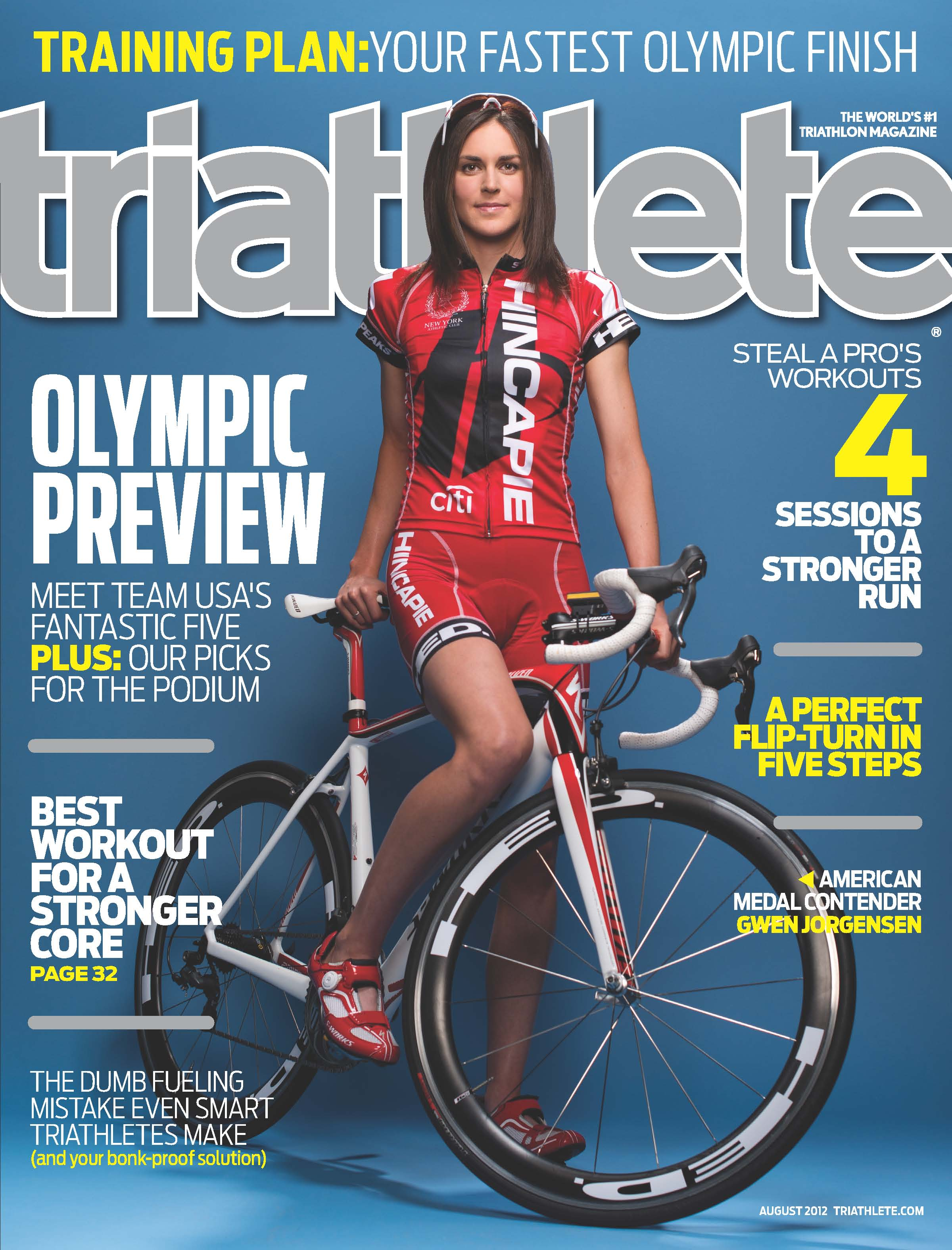Cover of Triathlete Magazine