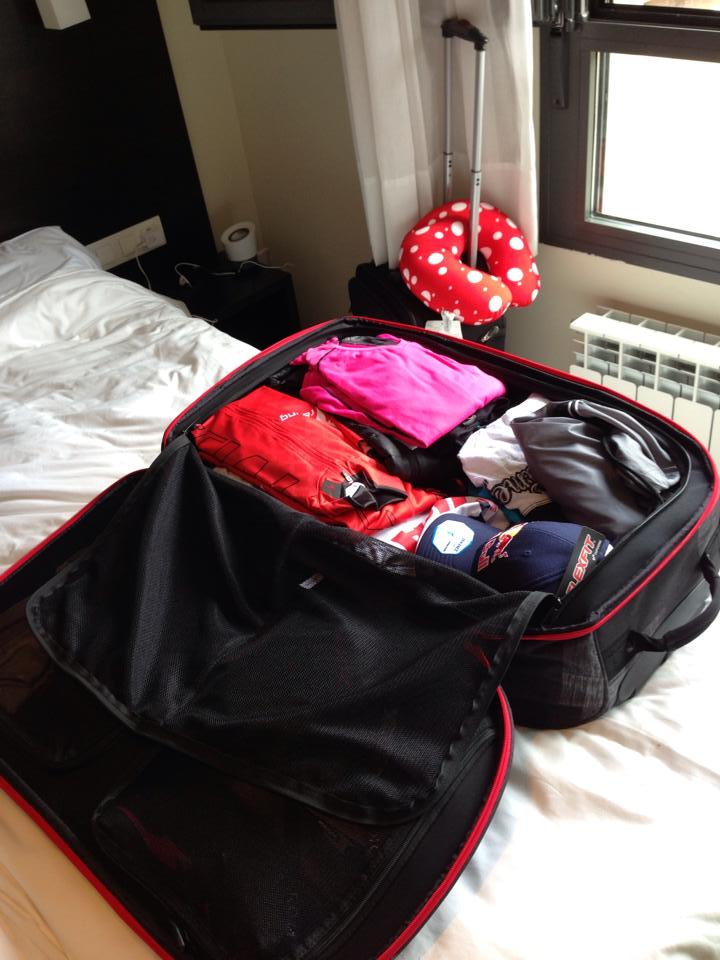 Thankfully, it all fit into my bags!