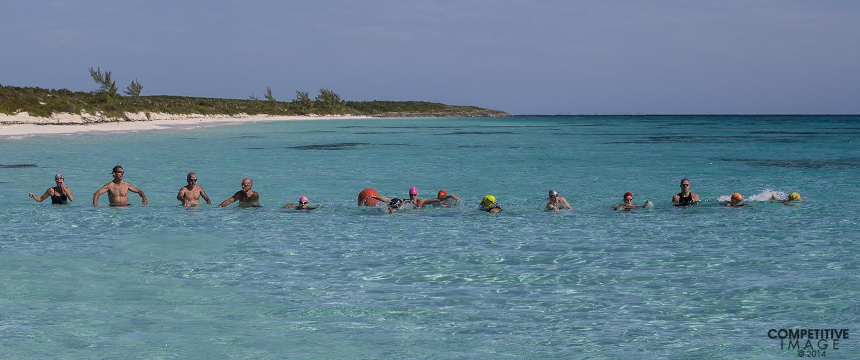 Swim race start, Photo thanks to Paul Phillips