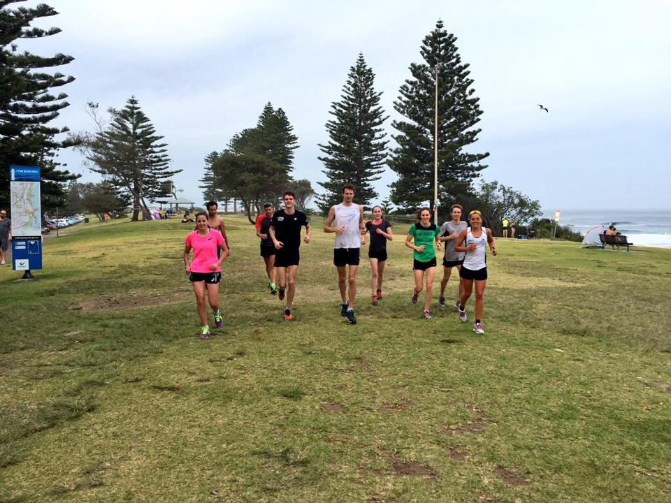 First run of 2015 with the Wollongong Wizards