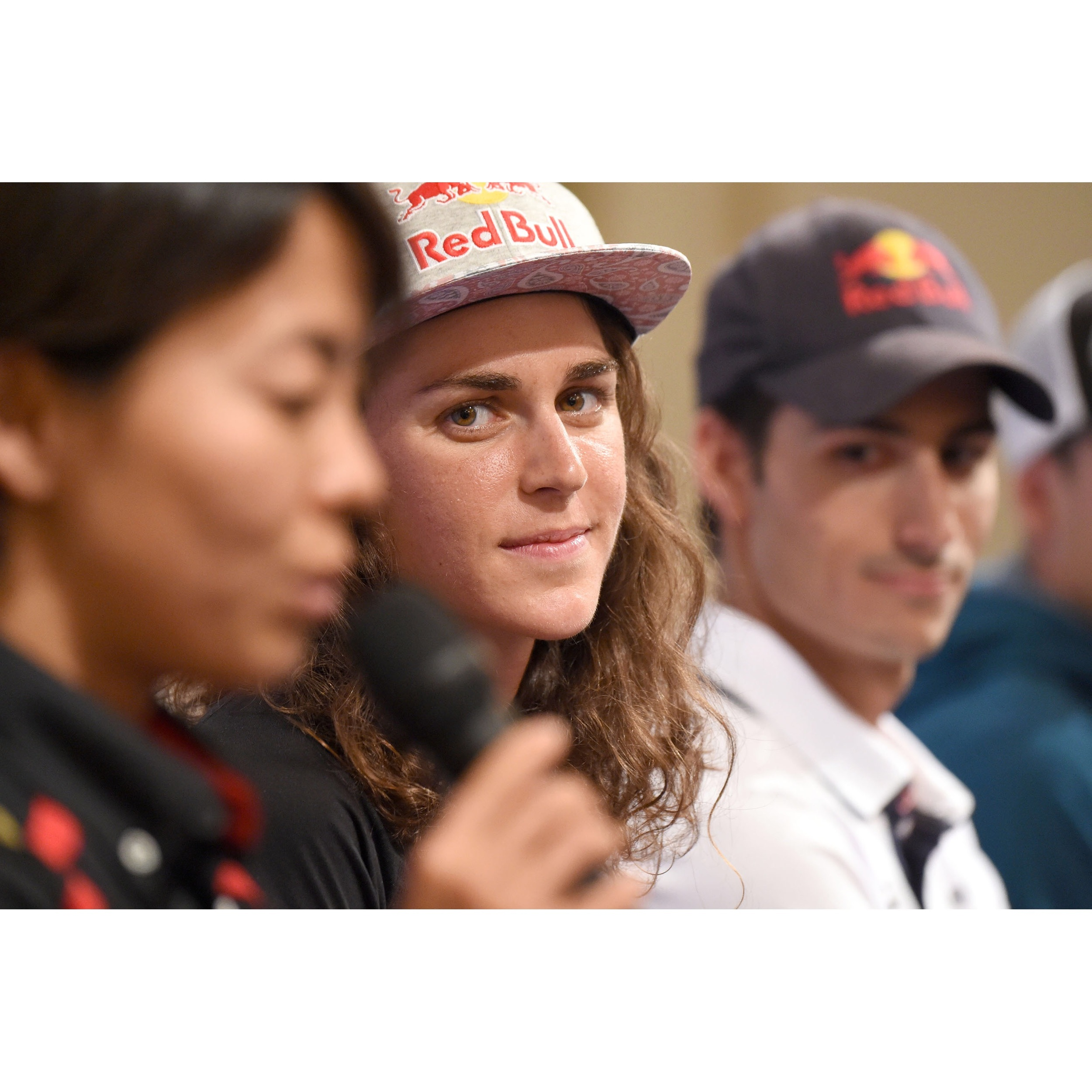 ITU press conference. Photo thanks to Delly Carr