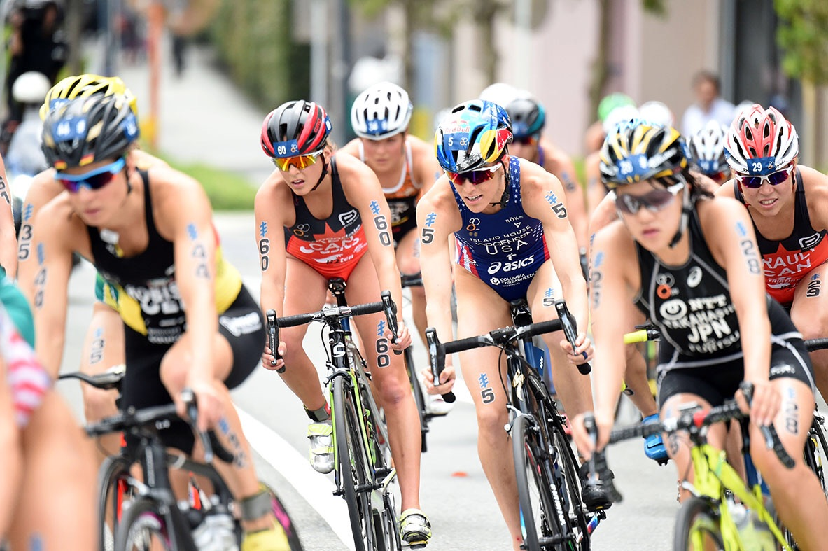 Bike pack mid race. Photo thanks to Delly Carr