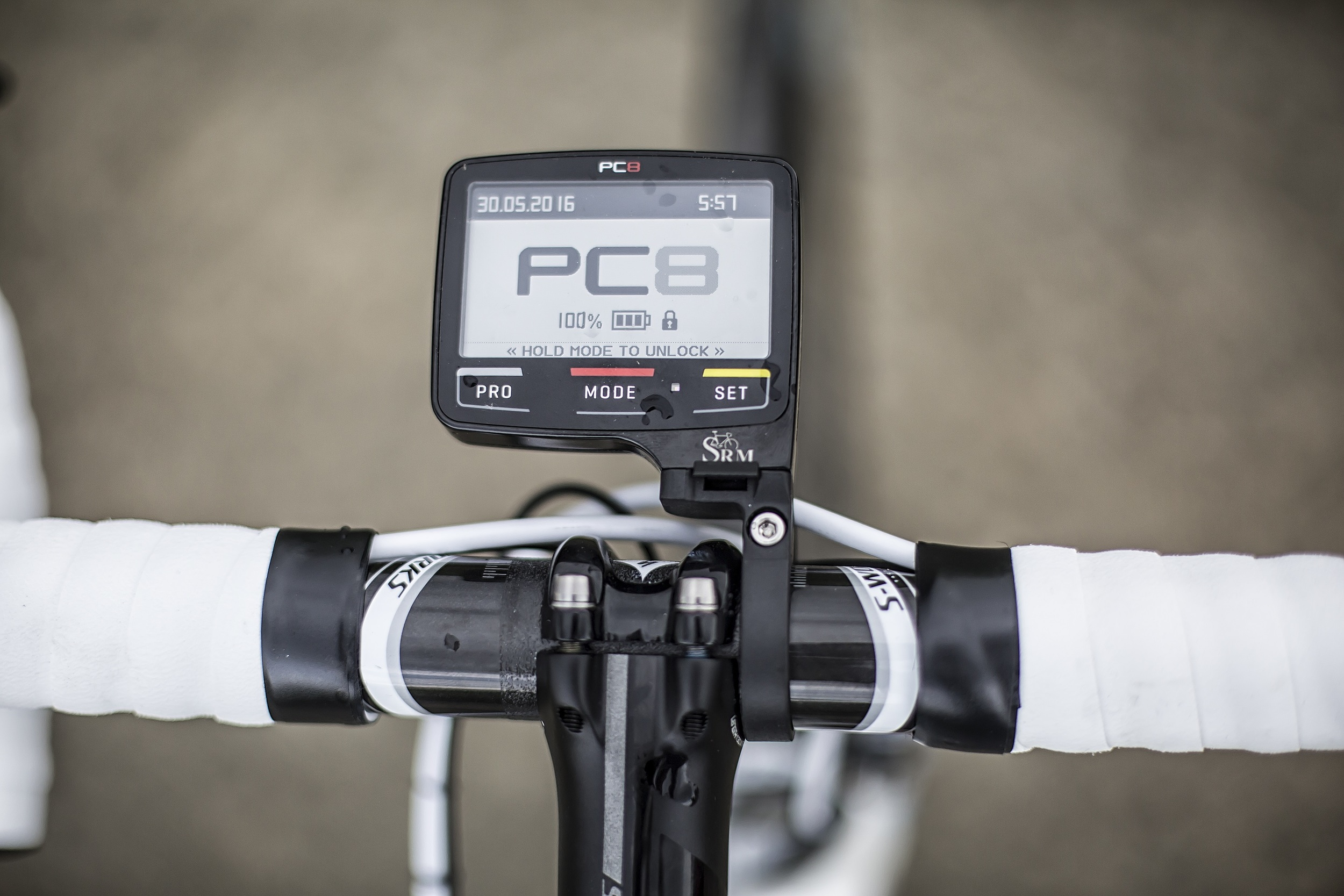I love the PC8, the display is so easy to read when I am suffering on the bike