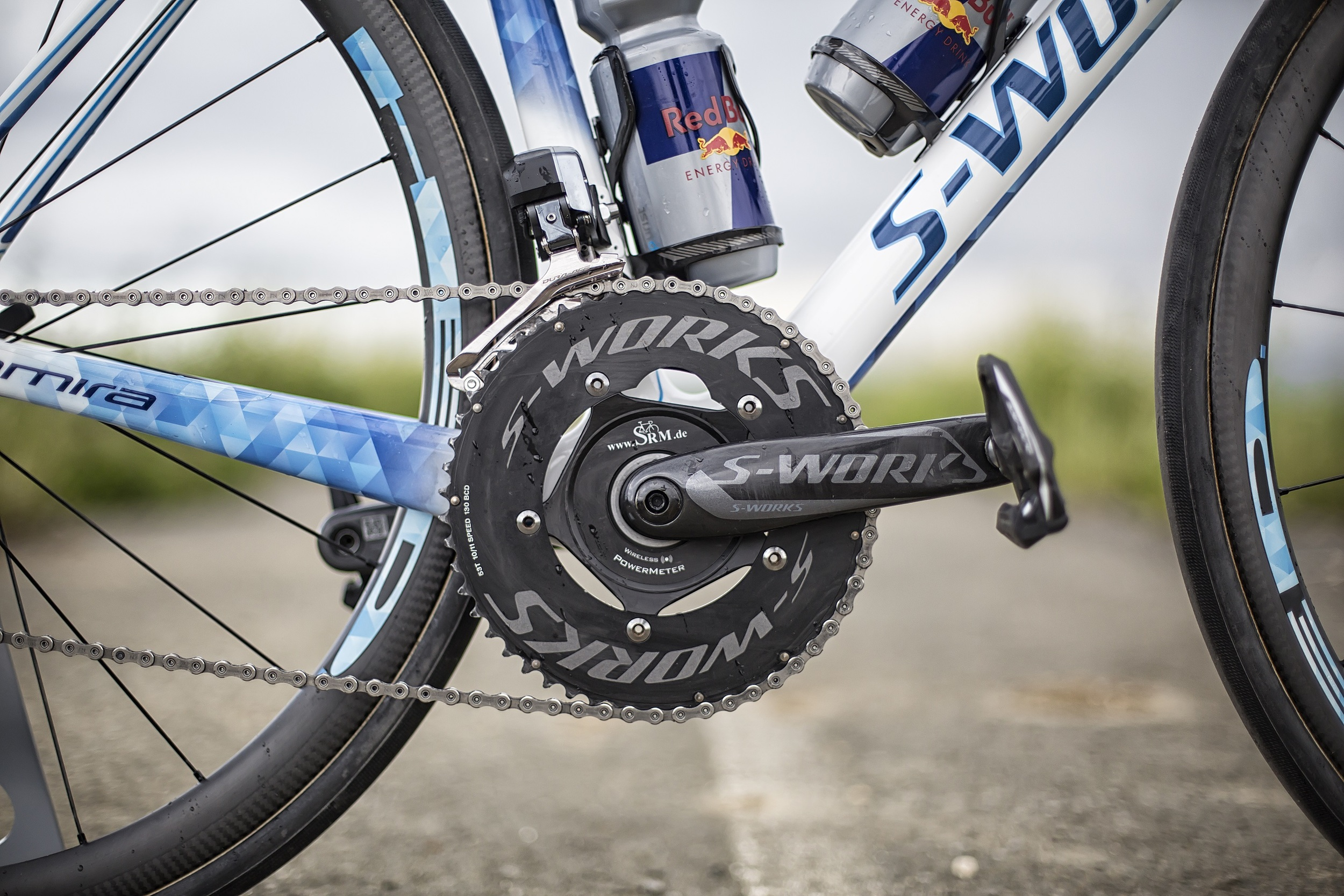 S-works SRM cranks, in Leeds I will be using 53-39 chainrings