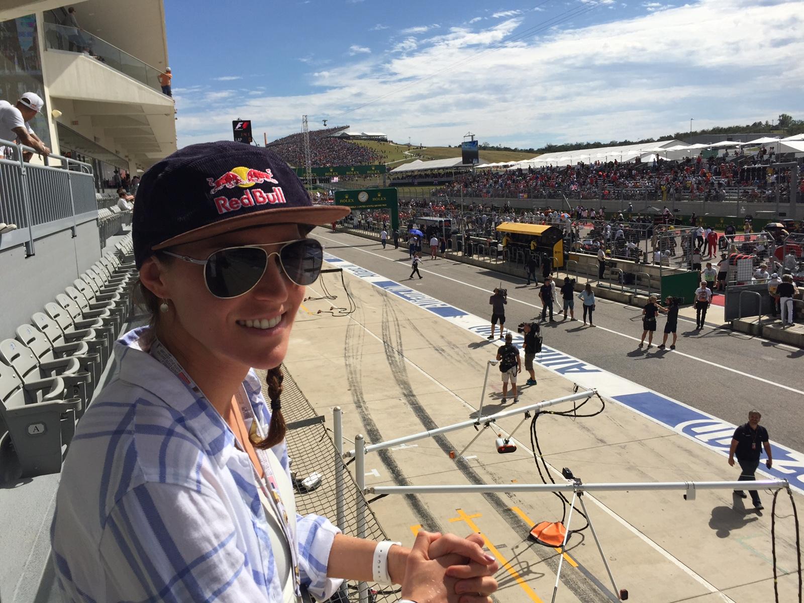 Loving the F1 race