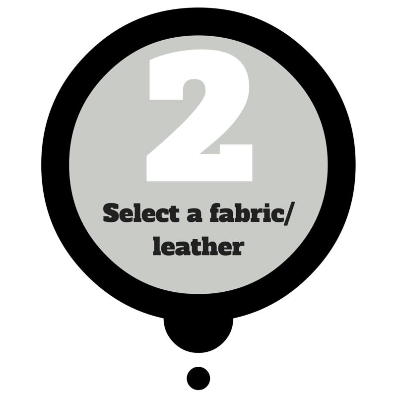 select a fabric/leather - dream design