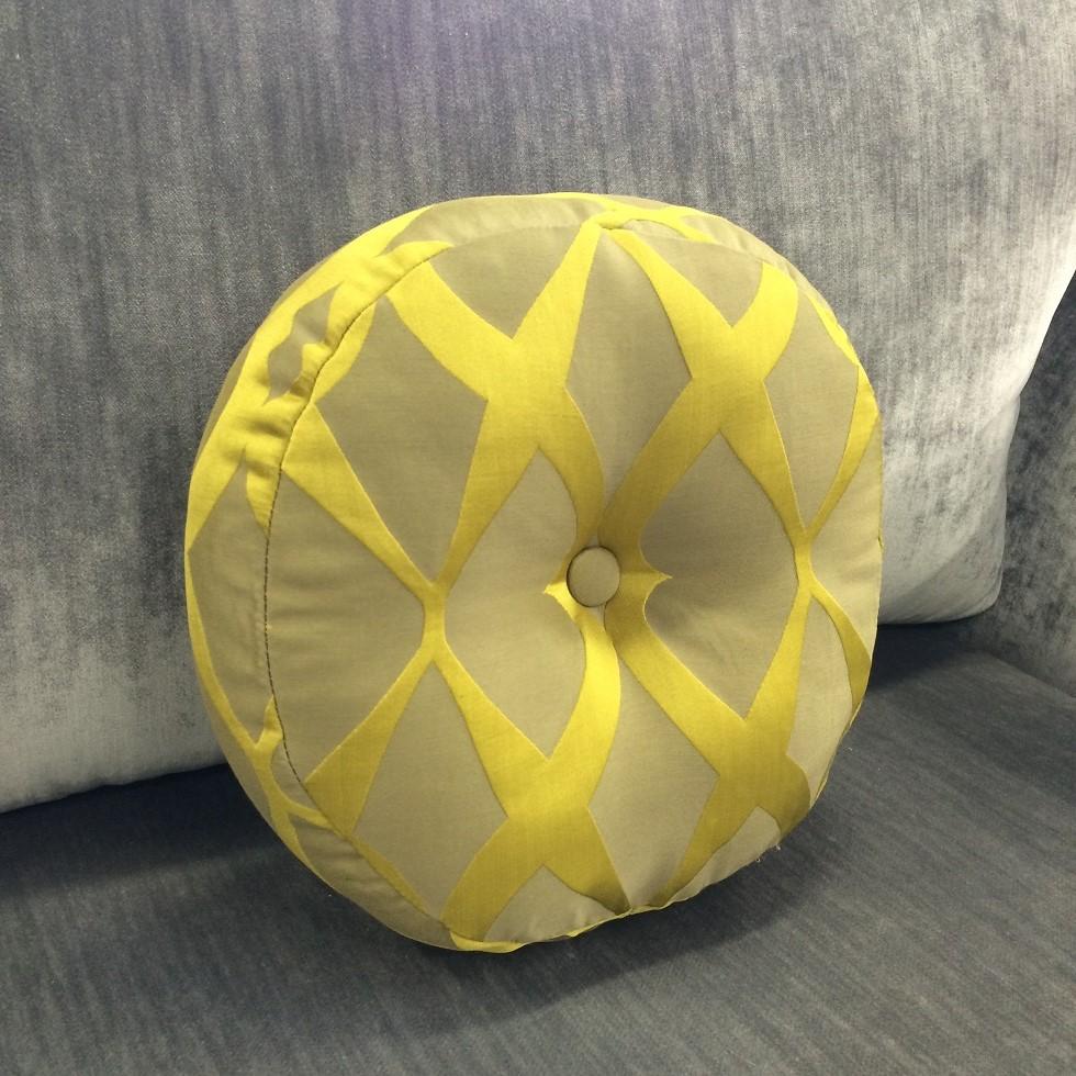 $125 ea  Size: Pop  Fabric:Nouveau Brocatelle Citrine