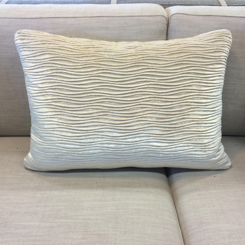 $215 ea  Size: Rectangle Small  Fabric:Rivoli Ivory