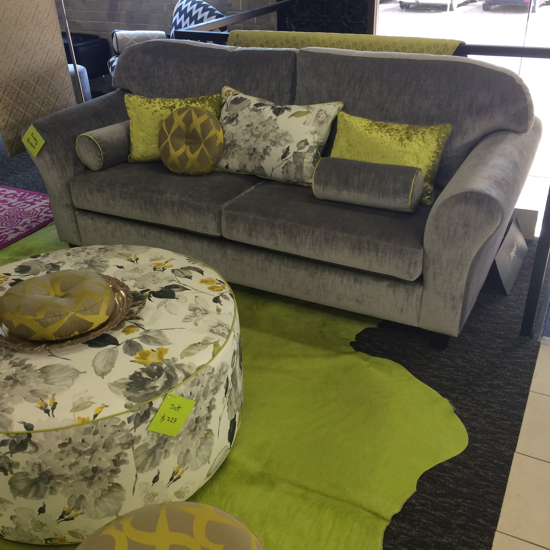 Rosey 2.5 seater lounge - in situ -dream design