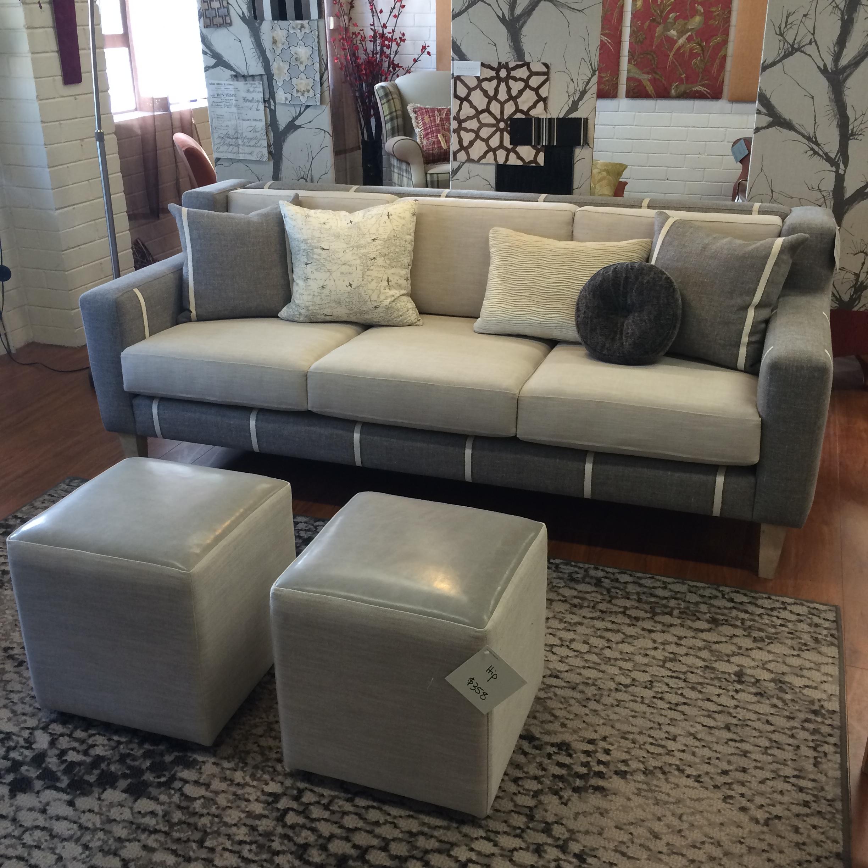 hunter 3 seater lounge - in situ - dream design