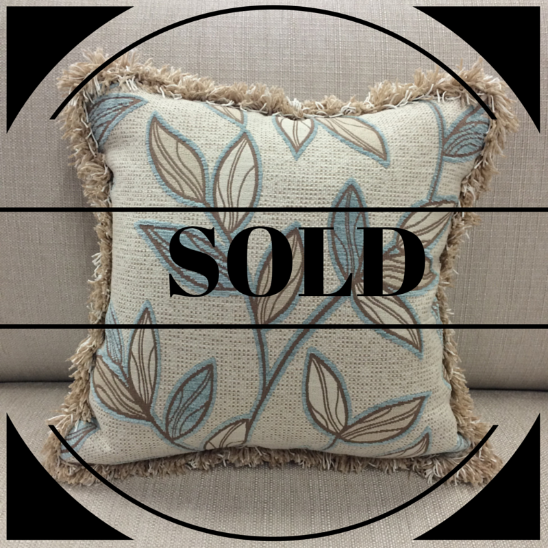 $102 (limited edition)  Size: Square Medium  Fabric: Lantana Seamist