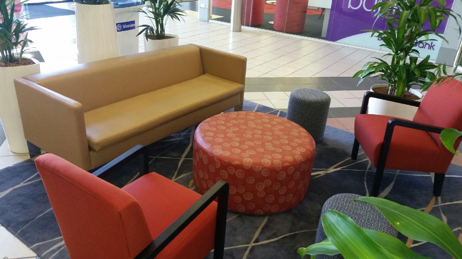 Riverside Plaza Visitor Seating