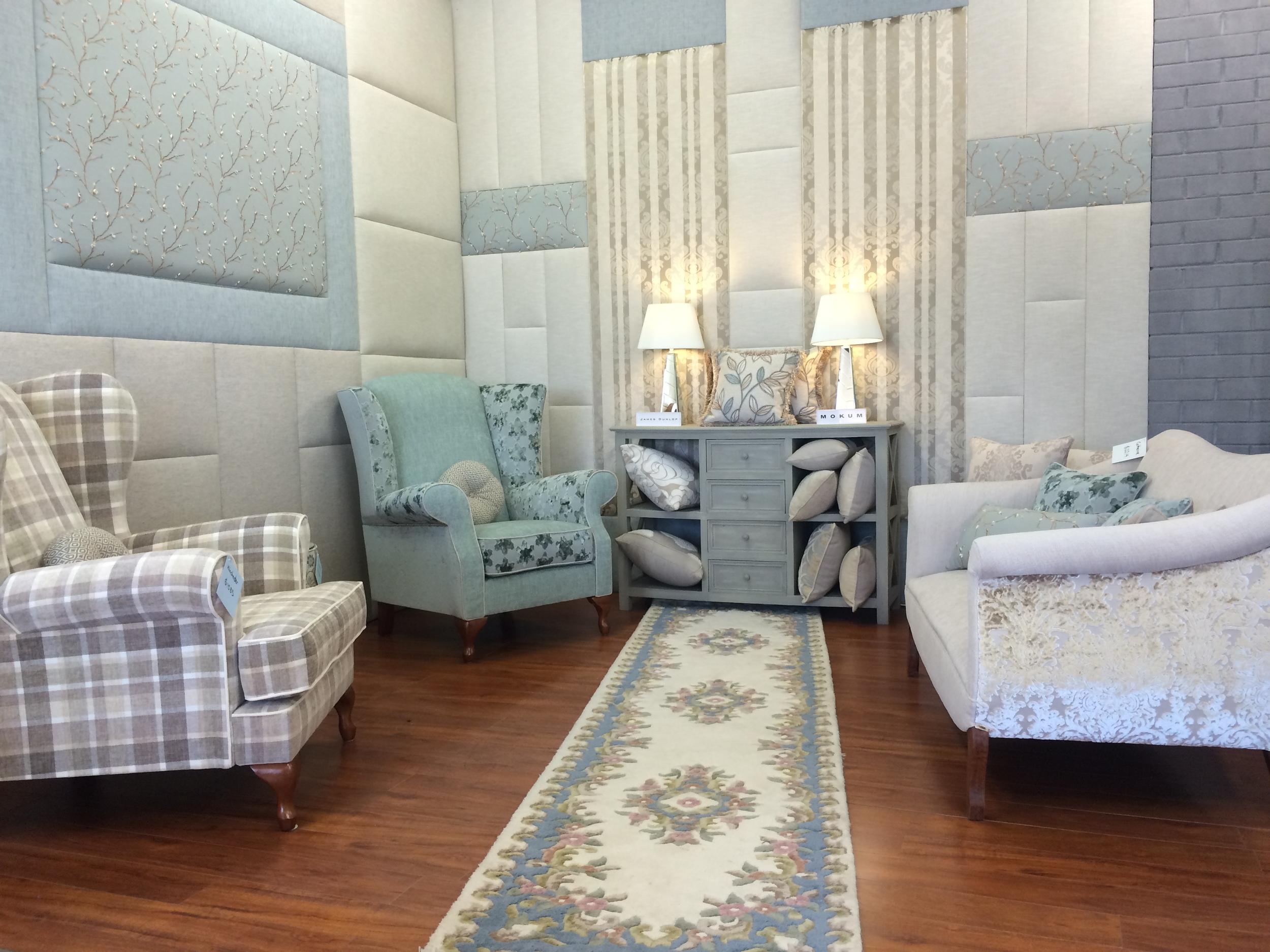 catherine 2 seater lounge - in situ - dream design