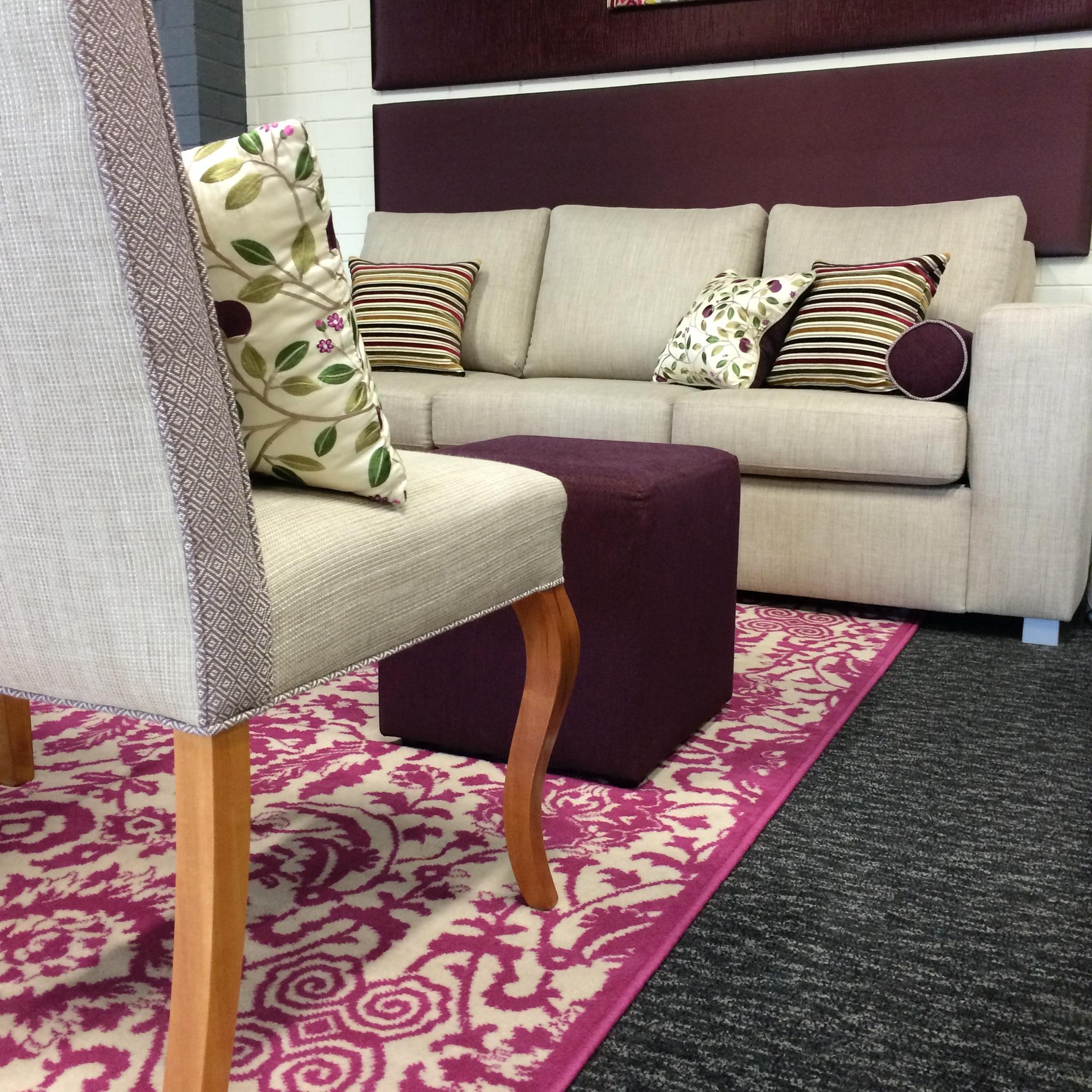 studio 3 seater sofabed - in situ - dream design
