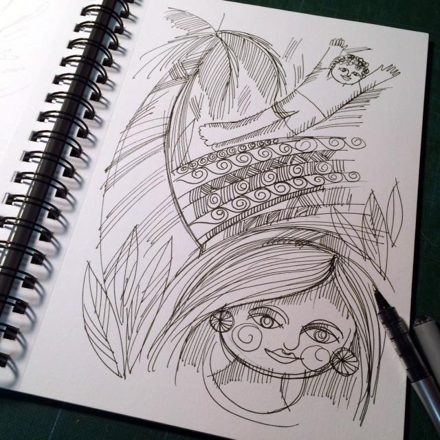 maria loor sketchbook