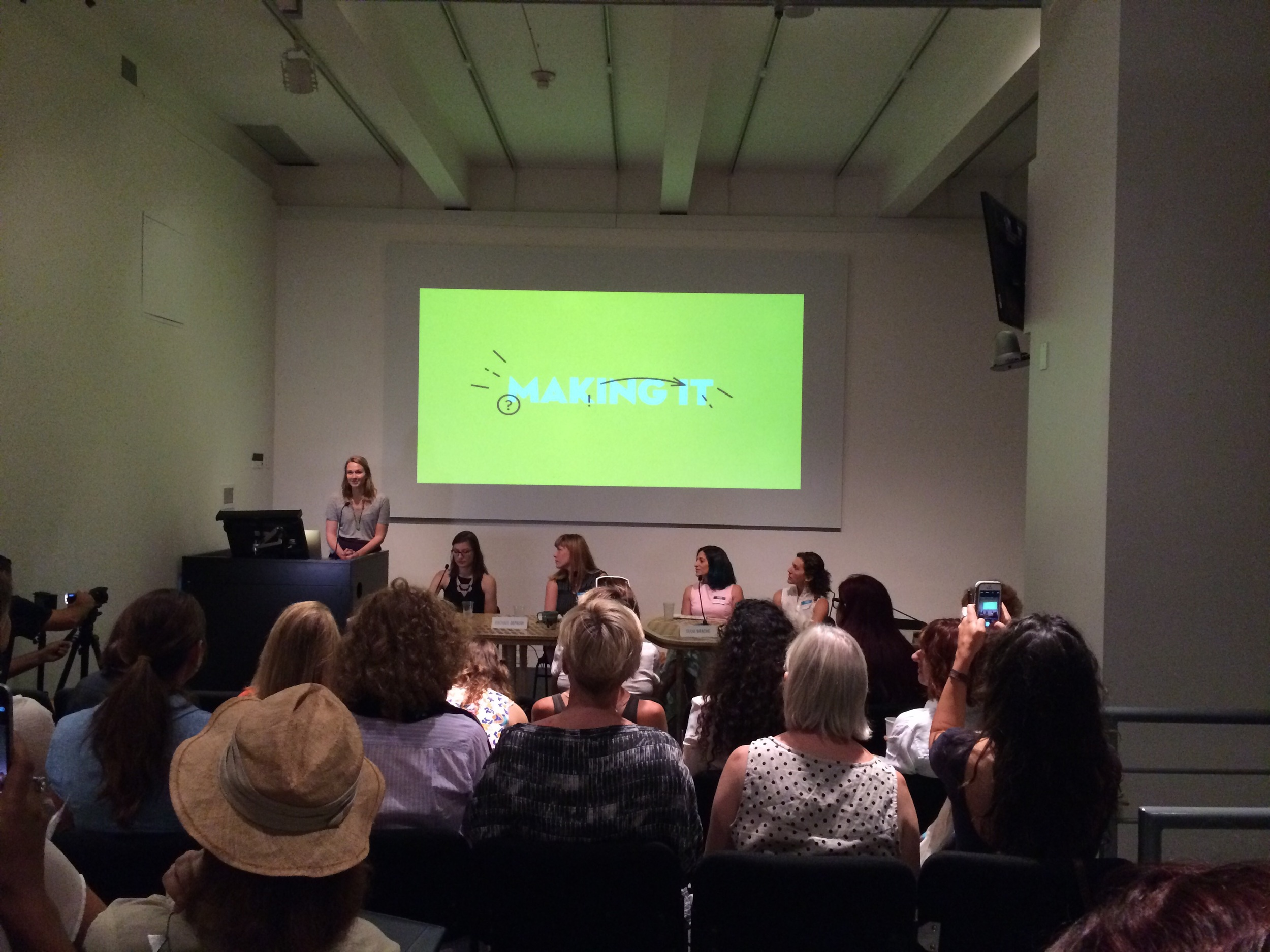 Awesome lecture by Sabrina Smelko of  Design*Sponge  - short, dynamic and to the point.