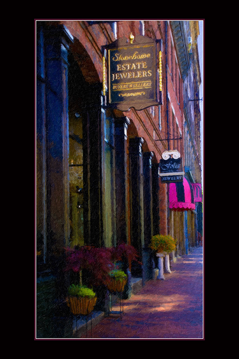 Portland Maine Street Scene - Impasto.jpg
