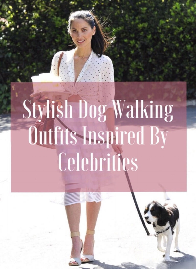Stylish Dog Walking Outfits Inspired By Celebrities.jpg