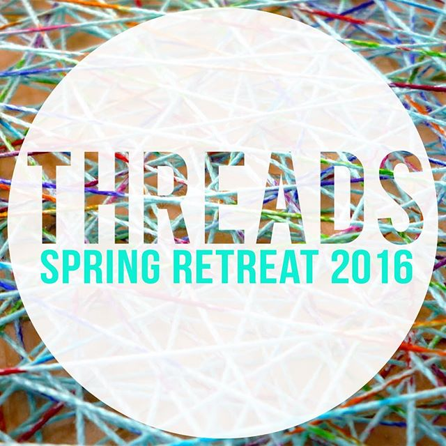 Don't forget to start inviting people to Spring Retreat 2016! April 1-3