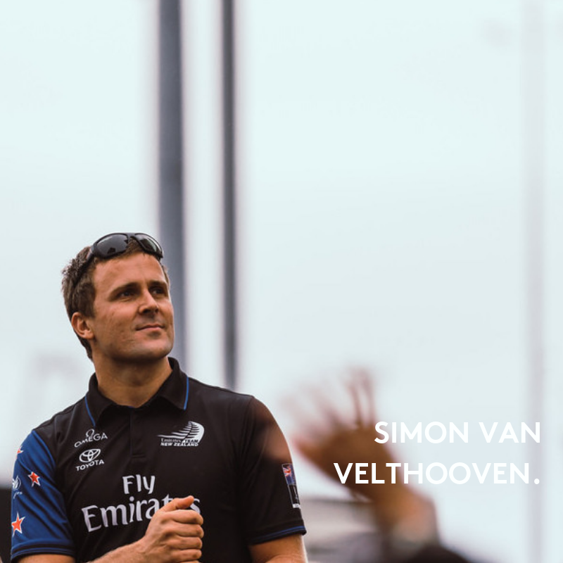 Simon van Velthooven   Olympic, Commonwealth Games and World Championship Track Cycling medallist, turned sailor for Emirates Team New Zealand. America's Cup Champion.  View Simon's Profile
