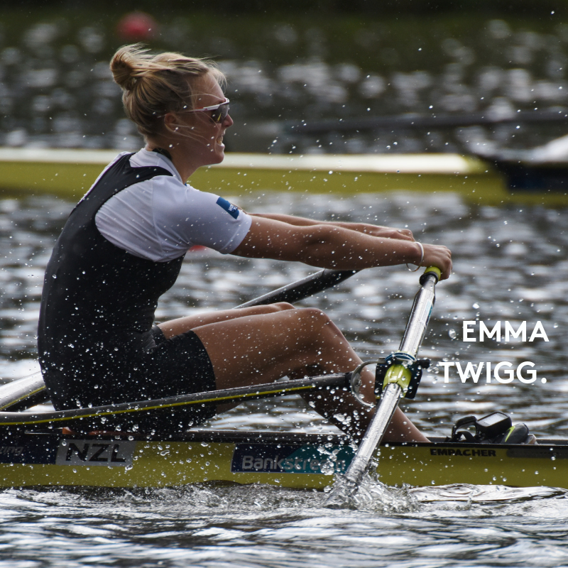 Emma Twigg   World Champion Single Sculler, three times Olympian, seven times National Champion.  View Emma's Profile