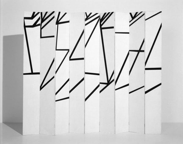 """Ellsworth Kelly """"La Combe"""", Oil on Wood Panels, 1950"""