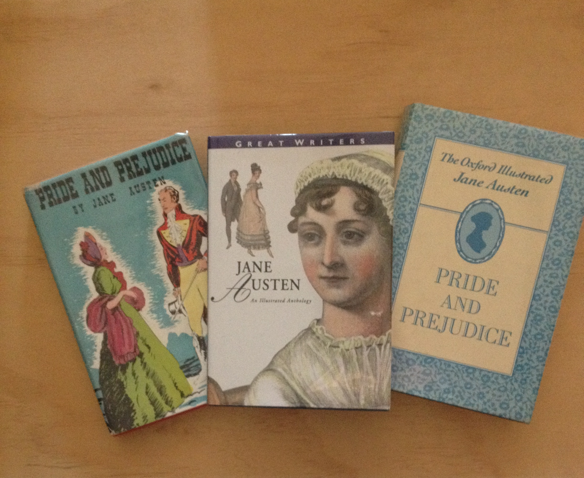 Jane Austen and Pride and Prejudice is a favourite title for book collectors.