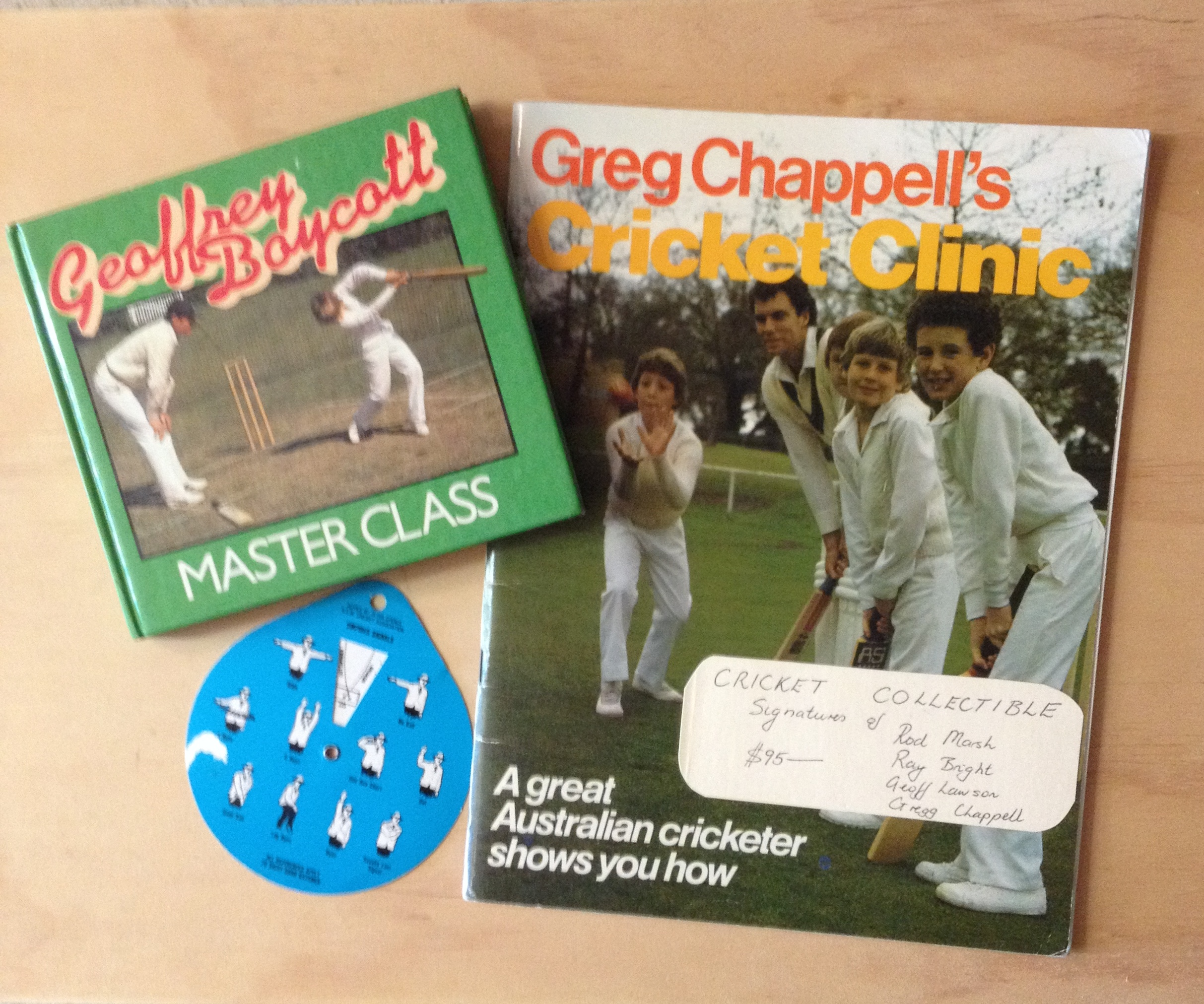 Example of Cricketing Ephemera Available At Love Vintage Books Willoughby