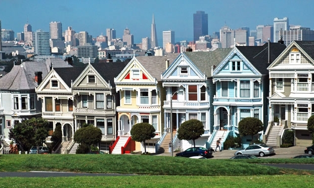 The world famous Painted Ladies