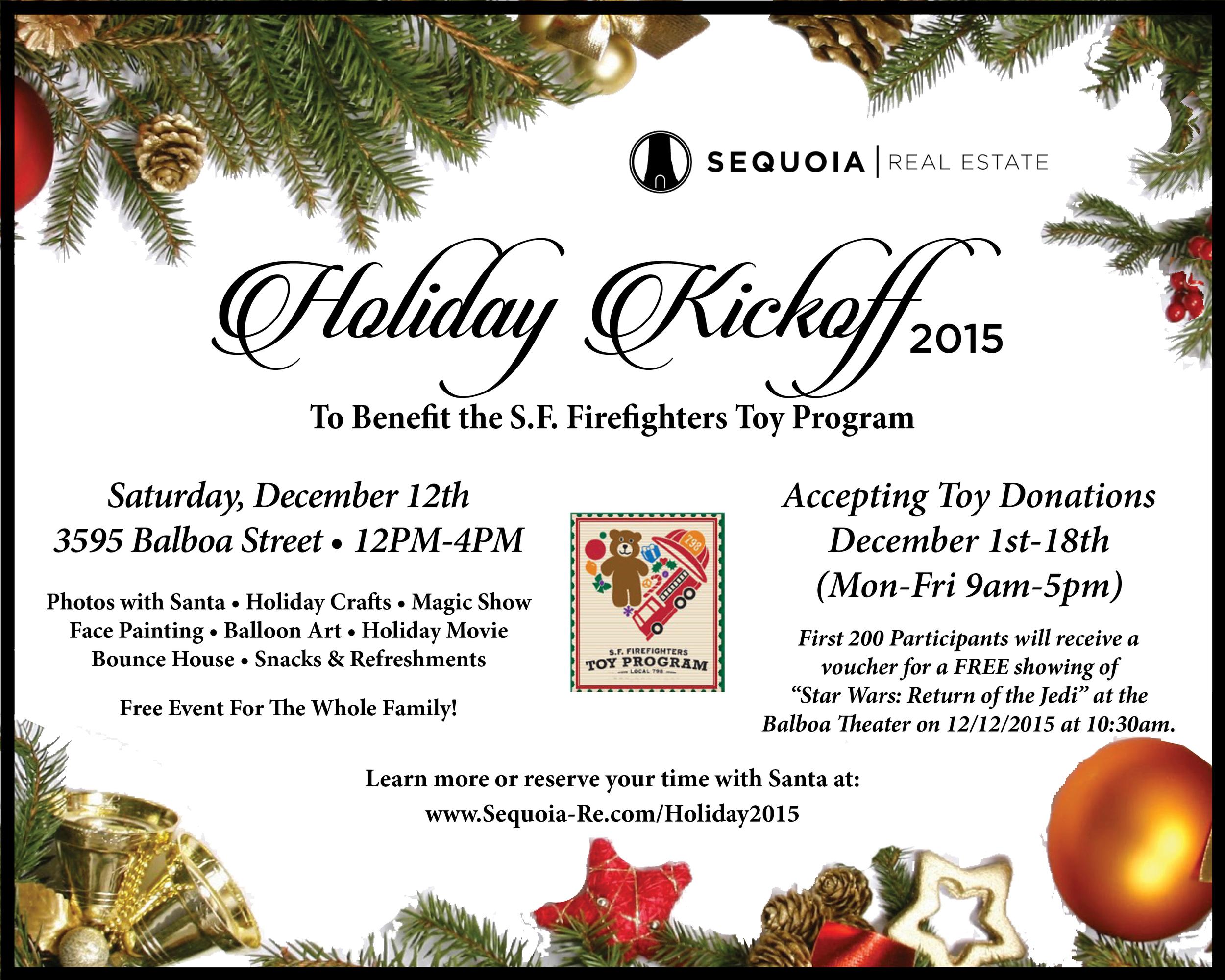 Sequoia Real Estate Holiday Kickoff 2015