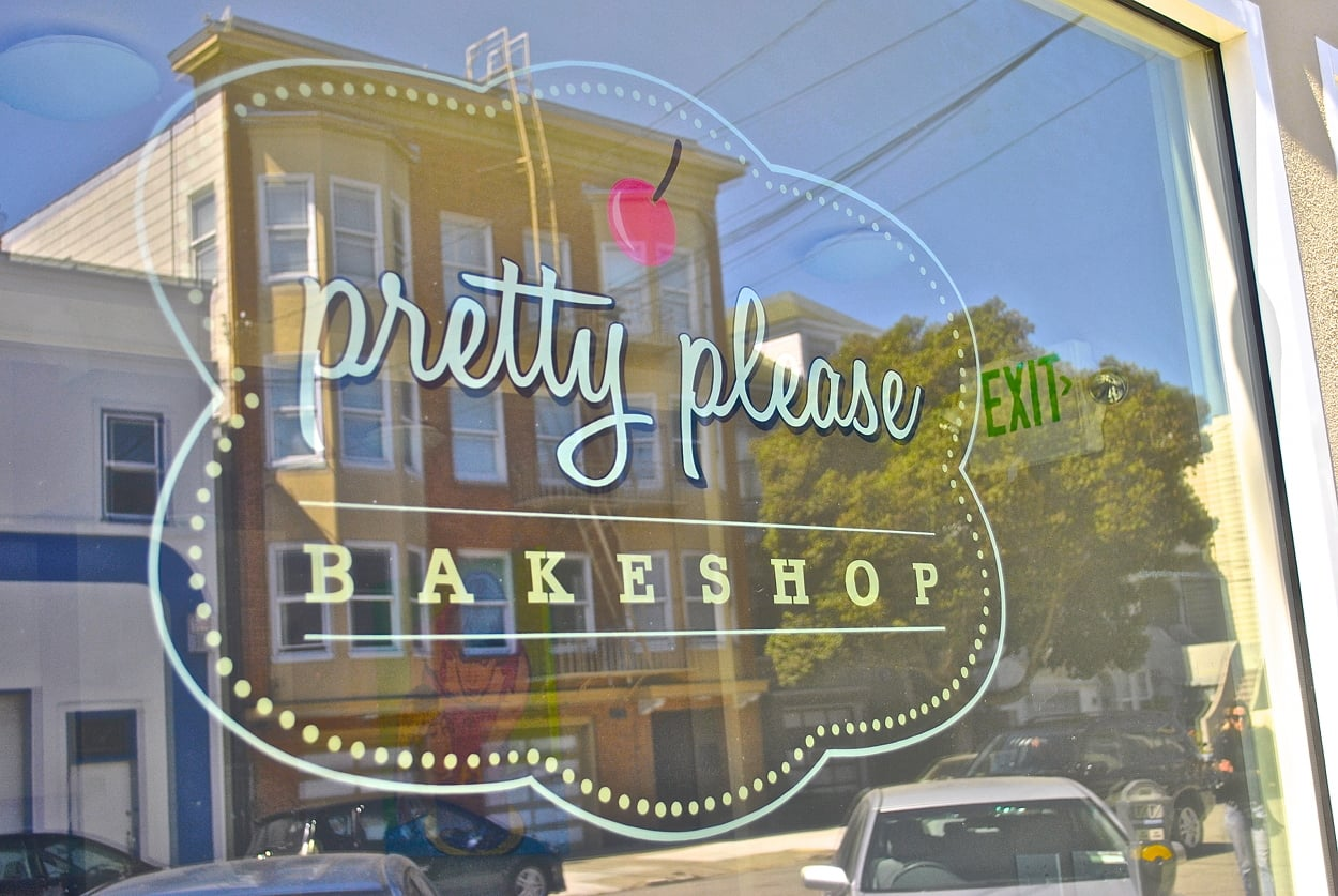 Pretty Please bakeshop represents a slew of stylish retail establishments that have been popping up around the Clement Street commercial area.