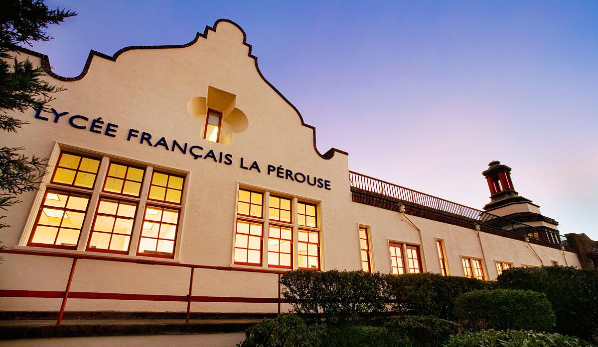 The prestigious French school Lycée Français de San Francisco serves children in preschool through grade 12.