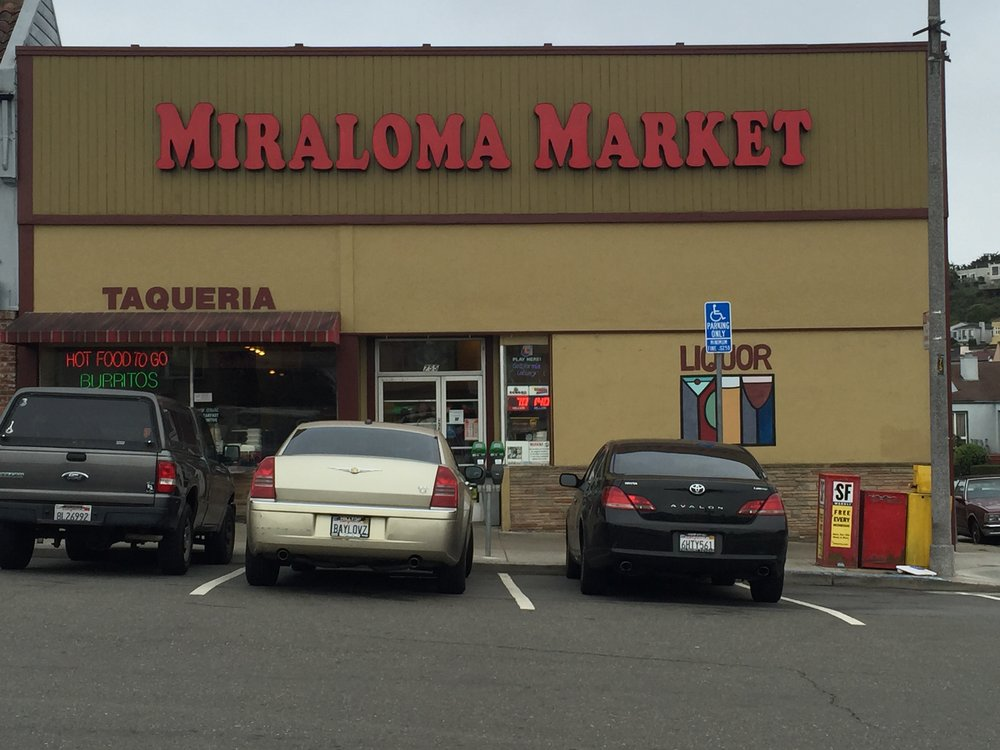 Miraloma Market, near the foot of Mount Davidson on Portola Drive, is a  neighborhood   favorite supermarket.