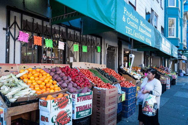 24th Street is lined with ethnically diverse restaurants, grocery stores, bakery and specialty shops.