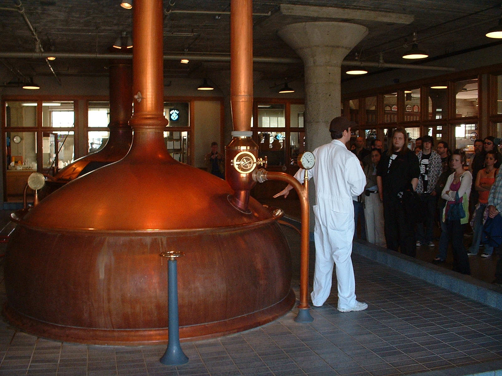 In business since 1896, Potrero-based Anchor Brewing Company hosts regular tours of its facilities.